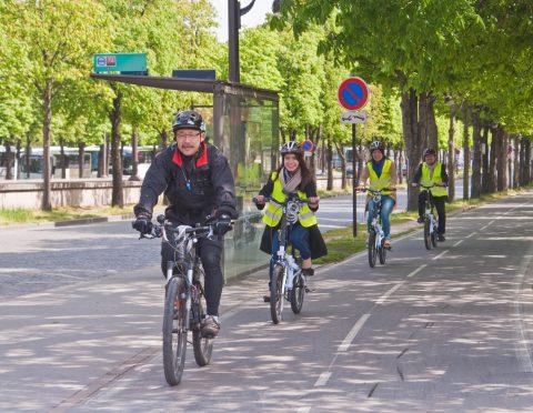 パリ市内半日観光 自転車ツアー