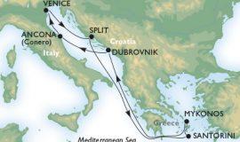 客船シンフォニアで行くアドリア海とエーゲ海7泊8日