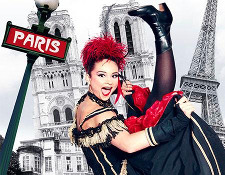 パリ最古のキャバレー【パラディ・ラタン】ディナーショー または ドリンクショー