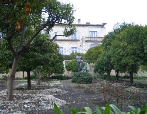 ルノワールの家、ロザリオ礼拝堂、サン・ポール