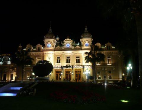 モナコナイトツアー ロマンティックディナーとカジノ ≪ニース市内お送り付き≫