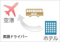 【片道】パリ市内ホテル→シャルルドゴール空港 専用車送迎 <英語ドライバー>