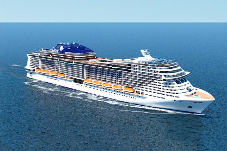 MSCグランディオーサで巡る地中海7泊8日