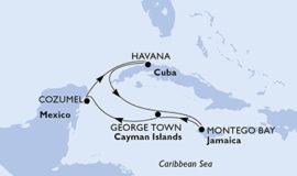 MSCオペラで行くキューバ発カリブ海7泊8日
